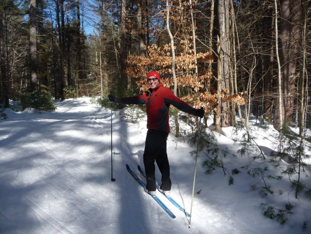 usa/ny: x-country skiing at lapland lake – travel2unlimited