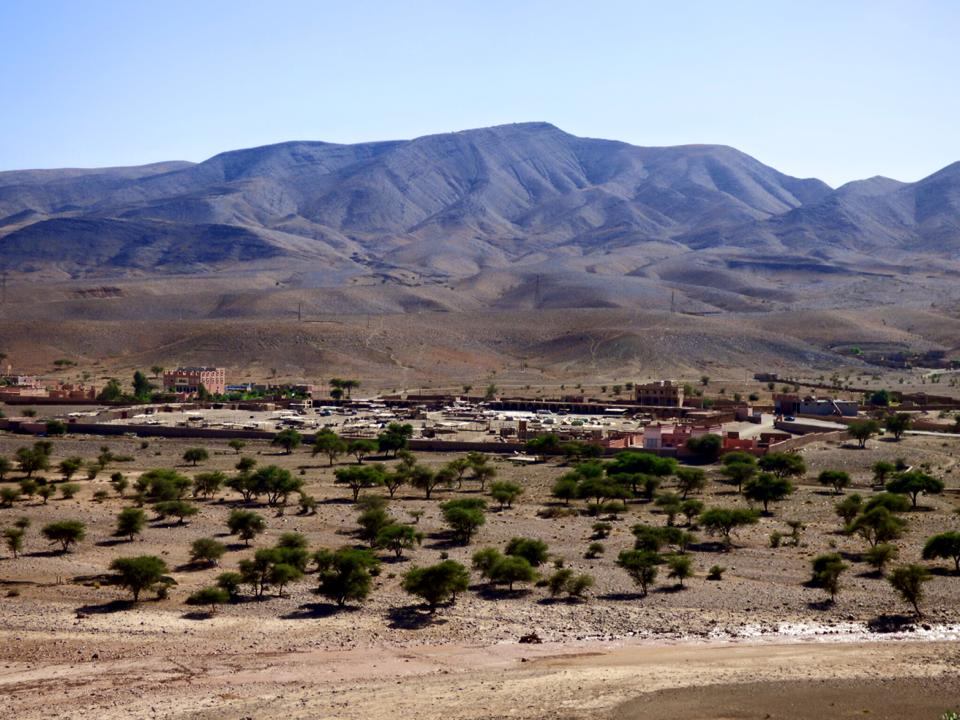 rivier dra marokko