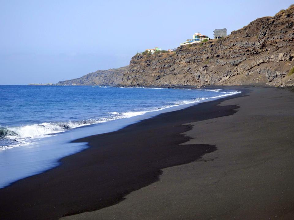BLACK SAND BEACHES  CAPE VERDE