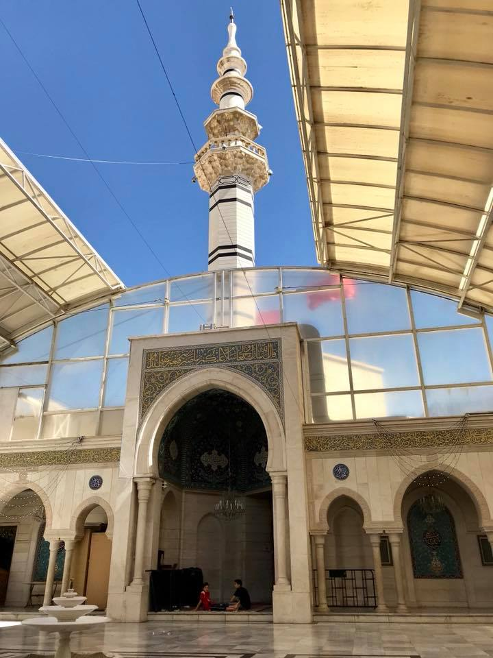 Syria Damascus Sayyidah Ruqayyah Mosque Travel2unlimited
