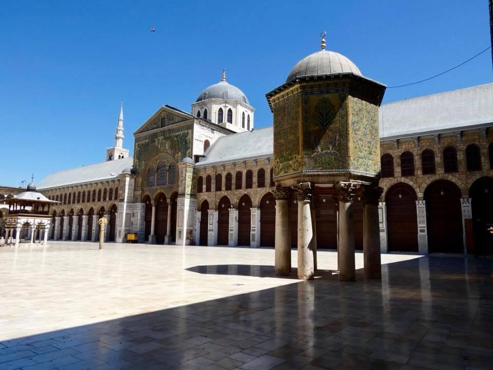 Syria Damascus Inside The Umayyad Mosque
