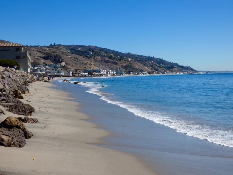 Usa California Los Angeles Malibu Beach